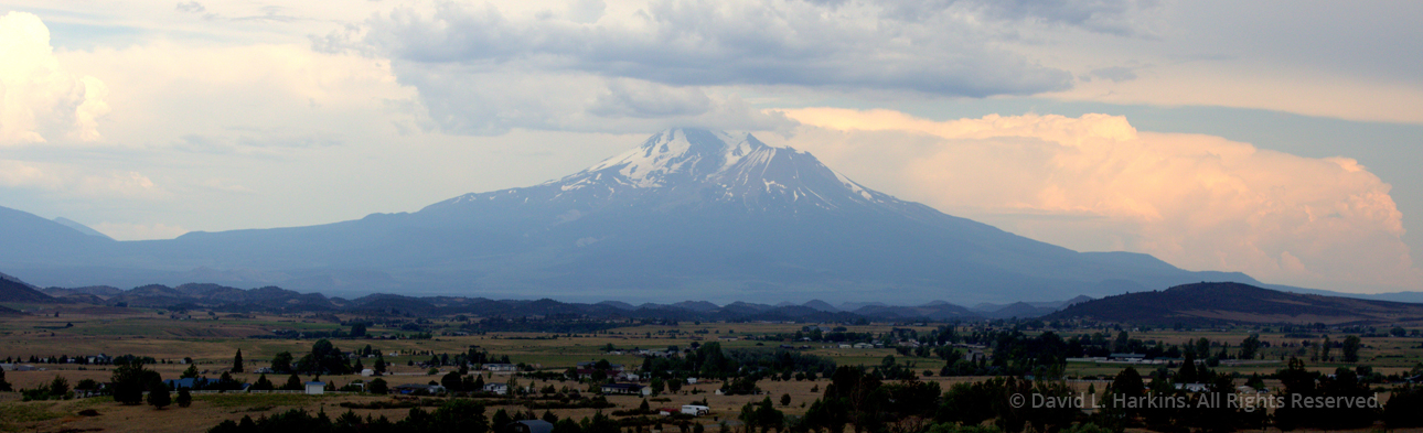 Mount Shasta by David Harkins